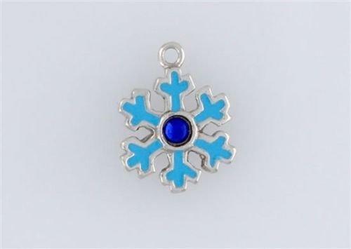 Decorative Enameled Snowflake Charm (Enameled Snowflake Charm)