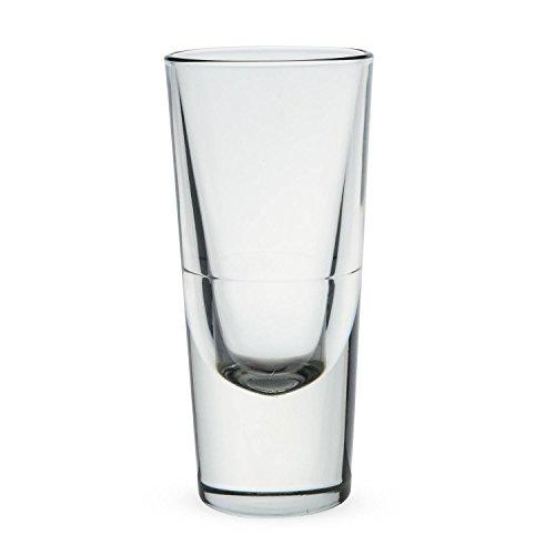 Bormioli Rocco 4.5-Ounce Bistro Bar Shot Glass, Pack of 6