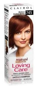 Clairol Natural Instincts Loving Care #745 Medium Reddish Brown Hair Color