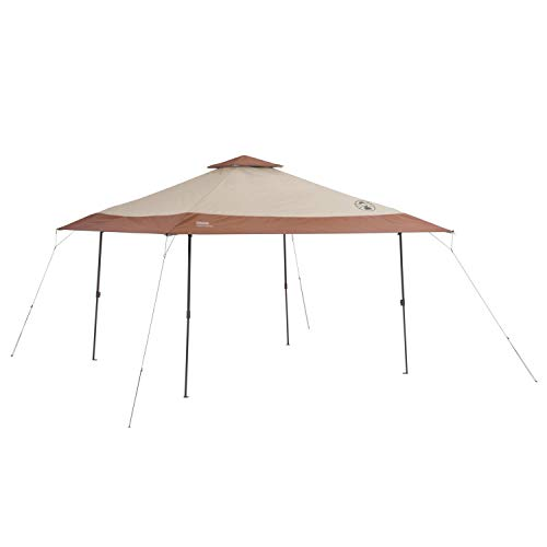 Coleman Instant Pop-Up Canopy Tent and Sun Shelter, 13 x 13 Feet (Best Easy Up Canopy)