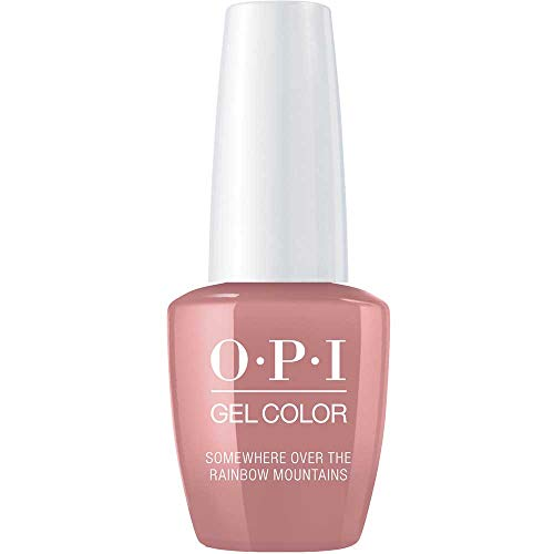 OPI GelColor, Somewhere Over The Rainbow Mountains, 0.5 Fl. Oz. gel nail polish