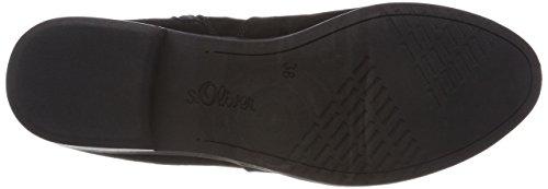 s.Oliver Damen 25302 Chelsea Boots Schwarz (Black)