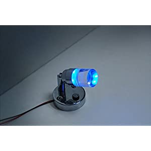 Dream Lighting Crystal LED Reading Light - Cool White and Blue Lighting Map Lights with Switch