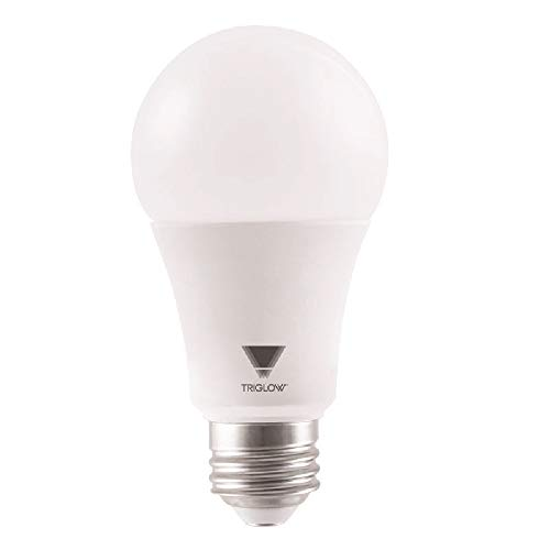 TriGlow T94443 15-Watt (100W Equivalent) A19 LED DIMMABLE Bulb, 3500K (Deco White Color), 1600 Lumens and E26 Base, UL Listed and Energy Certified ()