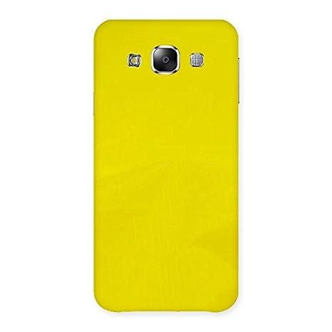 promo code 92321 e94c2 Neo World Yellow Back Case Cover for Samsung Galaxy E5: Amazon.in ...