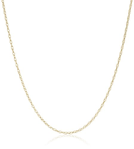 Yellow Lightweight 0 8mm Double Link Necklace product image