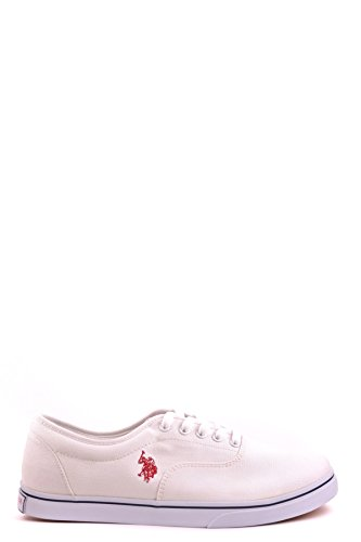 finishline for sale sale online U.S. Polo Assn. Men's MCBI330002O White Fabric Sneakers Sw8xx