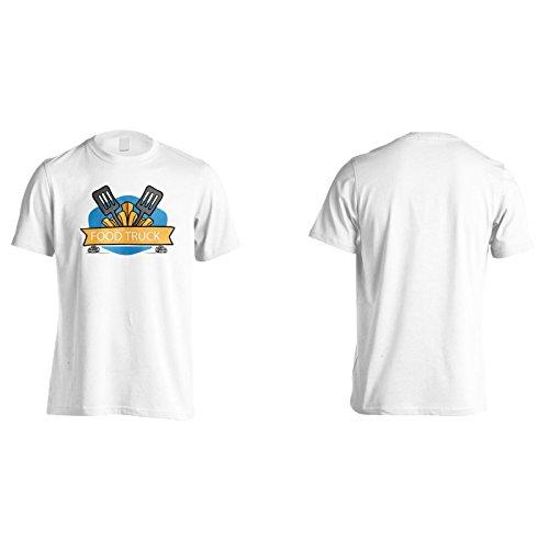 Neue Lebensmittel-Lkw-Restaurant Herren T-Shirt l222m