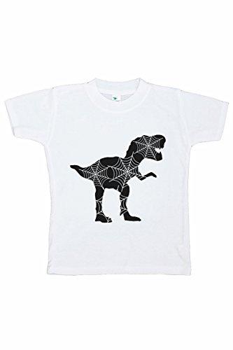 7 ate 9 Apparel Boy's Dinosaur Halloween T-Shirt 5T Black ()