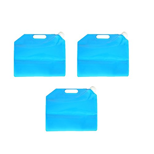 【上品】 Boli ブルー 10リットル折りたたみ水タンクウォーターコンテナ水carrier-食品グレードbl-6016-e-210l 10L ブルー Boli B07BFTT17G BL6016-10L-3 3 B07BFTT17G, インテリアふじ:dde09e6a --- a0267596.xsph.ru
