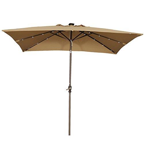 9' Square Umbrella - 6