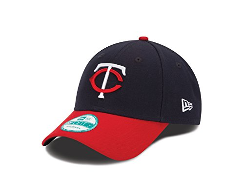 MLB Minnesota Twins Road The League 9FORTY Adjustable Cap, One Size, Navy ()