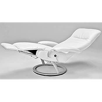 Kiri Recliner White Leather Swivel Recliner Lafer Recliner Chairs  sc 1 st  Amazon.com : lafer recliners - islam-shia.org