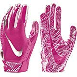 NIKE Adult Vapor Jet 5.0 Breast Cancer Awareness Receiver Gloves 2018 (Pink, -