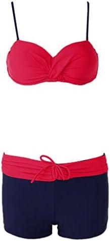 """Badewannen-Bikini mit BH und Aufschrift """"BH RL RL"""