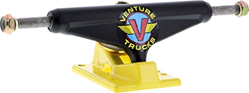 Venture Lo 5.0 Og Wings Flat Black Yellow Skate Trucks