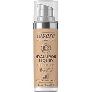 LAVERA Hyaluron Liquid Foundation Bases et Primers Honey Sand 03