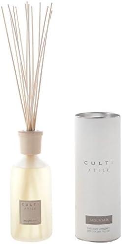 Amazon.com: CULTI MILANO Stile Collection Room Diffuser - Mountain - 16.9 oz: Home & Kitchen