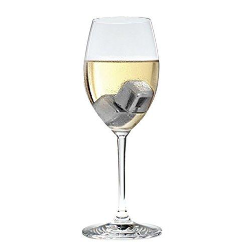 vino y bebidas de Gin /& Tonic. Juego de 10/acero inoxidable cubos de hielo Chilling Piedras Rocas reutilizable Cubito de hielo para whisky