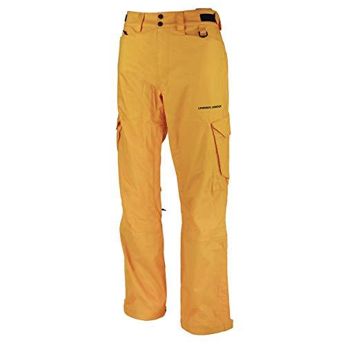 Under Armour Men's Snocone Ski Pants Orange 3XL by Under Armour