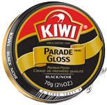 Kiwi Parade Gloss Shoe Polish - Black - 2.5 oz. - - Black My 011