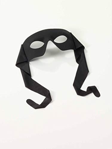 Forum Novelties Venetian Mardi Gras Burglar Halloween Half Eye Mask - Black]()
