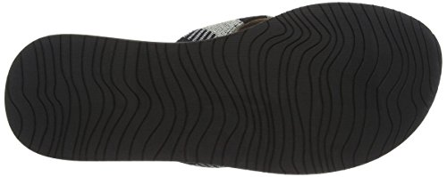 Reef Cushion Threads Tx, Sandalias para Mujer, Negro (Black/White), 37.5 EU