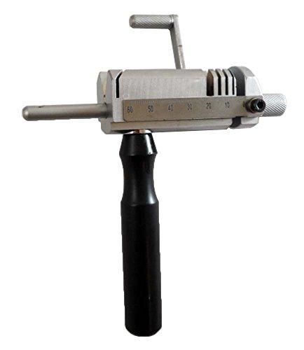 Hawk Slim Tube 60mm Cutting Jig For Jewelers With Special Diagonal Cutting Gu.