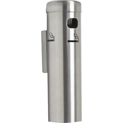 Smoking Wall Urn (Wall Mounted Cigarette Receptacle Color: Gold)