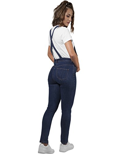 dark Ladies Classics 197 Donna Salopette Blue Urban Blu Dungaree 5Yfnwpqxdx