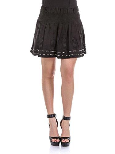isabel-marant-womens-ju060217p025e01bk-black-cotton-skirt