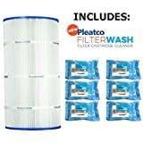 Pleatco pcc80cartucho de repuesto Filtro w/seis (6) Filtro de lavado para piscinas