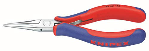 Knipex 3562145 Electronics Pliers with Half Round Tips, 5.75 Inch
