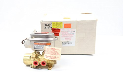 ASCO NP8344A70E RED-HAT Solenoid Valve 120V-AC 1/4IN NPT D613626