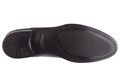 Dolce & Gabbana Hommes En Cuir Classique Lacets Chaussures Formelles Derby Carracci Bl