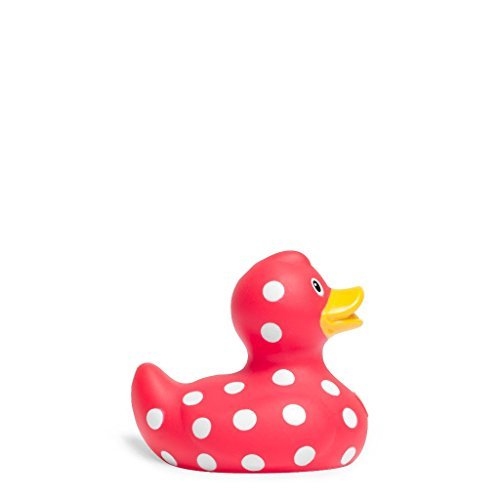 Rubber Duck Mini Polka Dot Duck | Bud Duck | Bath Duck | Duckshop | L: 6,5 cm