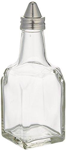 Winco G-104 Oil/Vinegar Cruets with Cone Tops, 6-Ounce