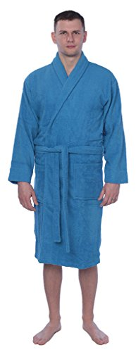 Cotton Shawl Collar Bathrobe Available