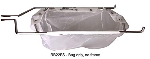 Miroil | RB22FS Fryer Filter Bag | MirOil EZ Flow Filter Bag | Part 12748| Use to Filter Fry Oil | Suitable for 15 Qt Polishing Oil | Durable, Easy to Clean with Hot Water | No Frame