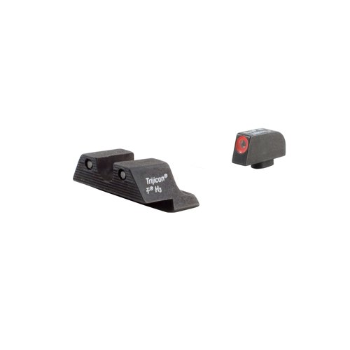 Trijicon GL104O HD Night Sight Set with Orange Outline for Glock Pistols