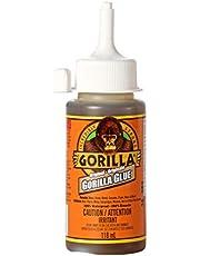 Gorilla Glue Original, Indoor and Outdoor Use, 100% Waterproof Formula, Versatile Bonding Adhesive, Easy Application Nozzle, 4 oz / 118 mL (Pack of 1) 5100430