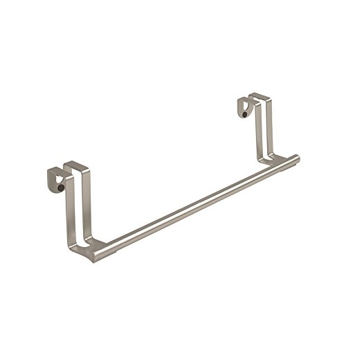 Spectrum Diversified Over the Cabinet Towel Bar, Brushed Nickel