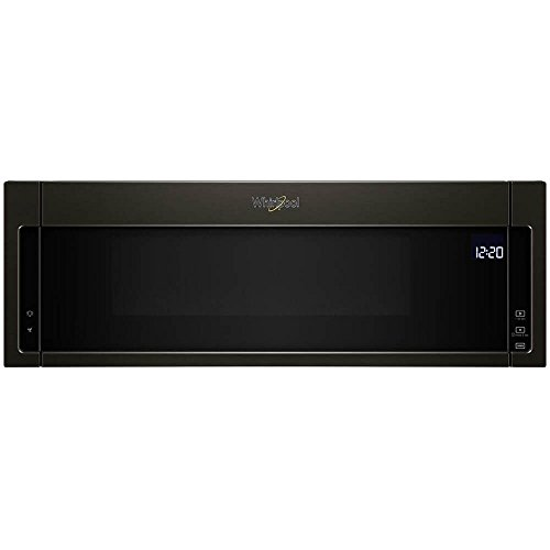 Whirlpool WML75011HV 1.1 Cu. Ft. Black Stainless Over-the-Range Microwave Oven