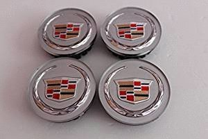 Cadillac Cts Center Cap (4pcs Wheel Center Hub Caps Fit For Cadillac DTS Cadillac SRX Cadillac CTS Cadillac CTS-V And Cadillac XLR 2004-2009)