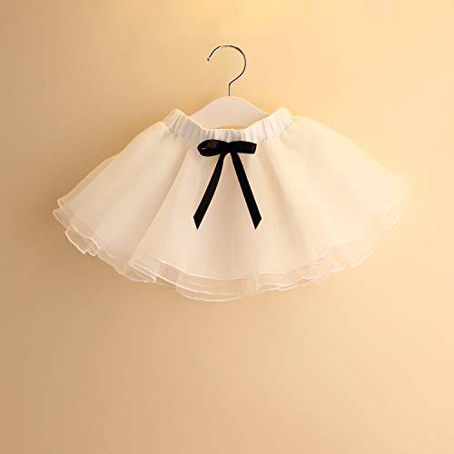 TreeMart Summer Hot Girl Tutu Skirt Lovely Fluffy Soft Mesh White Pettiskirt Skirts Girl Tulle Dance Skirt Christmas Petticoat s by TreeMart