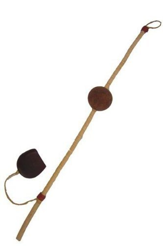 (African Slider Guiro - Ghana Shaker Wawa Rattle Toy)