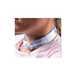 Dale Pedistars Tracheostomy Tube Holder 0.75 Inch Moisture Repellent Neckband Fits upto 9 Inch Neck - Box of 10 by Dale (Image #2)