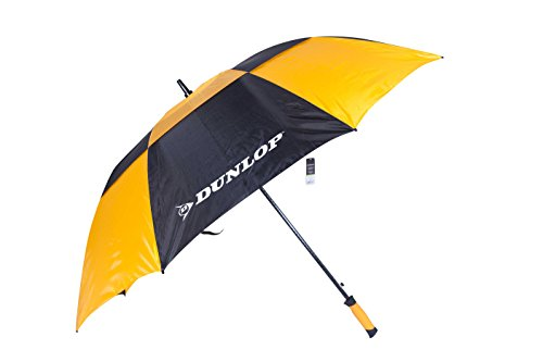 Dunlop 60 Inch Double Canopy Golf Umbrella Yellow 2-Pack