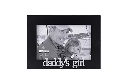 Malden International Designs Daddy's Girl Expressions Picture Frame, 4x6, Black