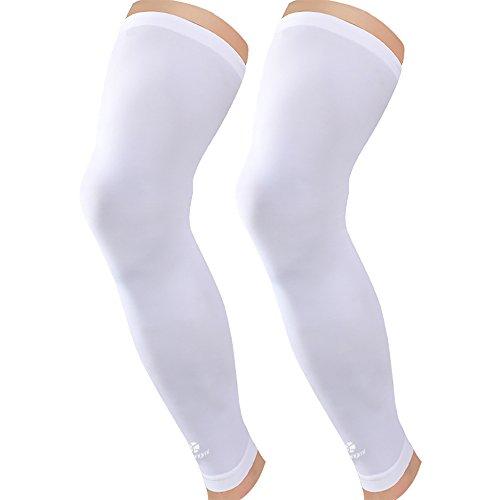 Kuangmi Leg Compression Sleeve (1 pair) Breathable UV Sun...